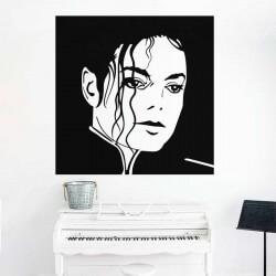 Adhesivo rey del pop