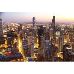 Mural ciudad de Chicago 1