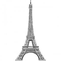Vinilo adhesivo torre Eiffel