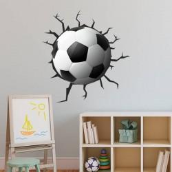 Adhesivo balón de fútbol