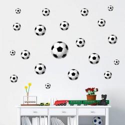 Vinilo pelotas de fútbol
