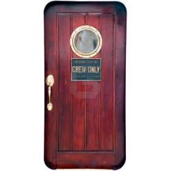 Vinilo puerta de un barco