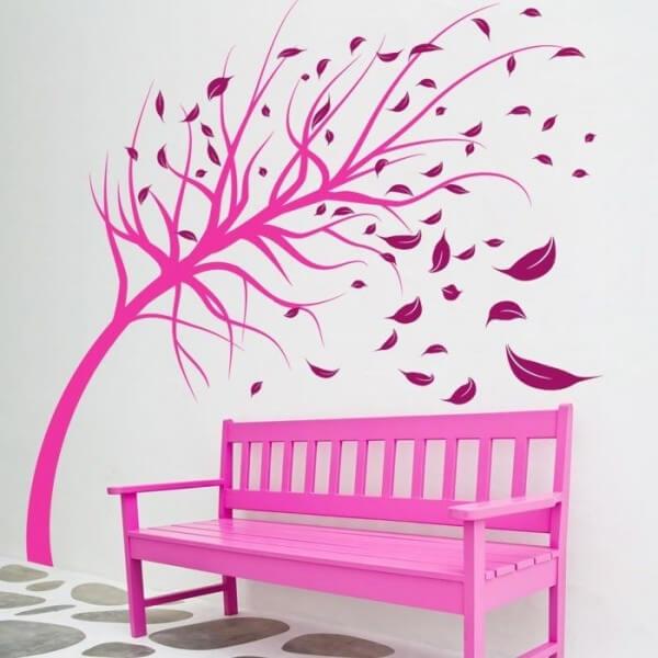 Vinilo decorativo de árbol 1