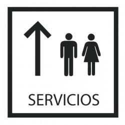 Vinilo para puertas servicios