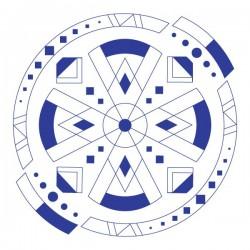 Vinilo de pared círculo