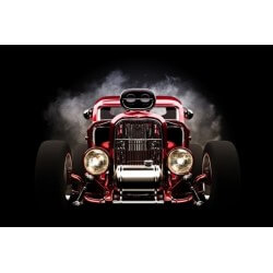 Fotomural Hot Rod