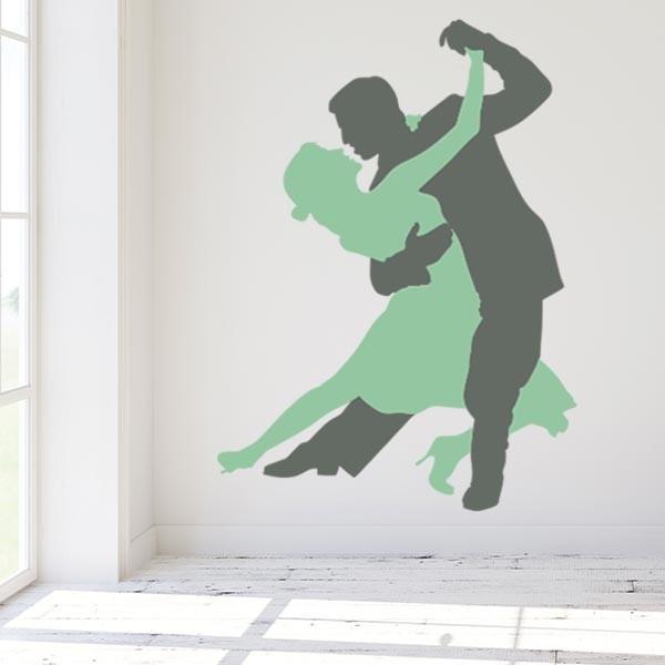 Adhesivo decorativo tango