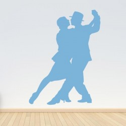 Vinilo pareja de tango