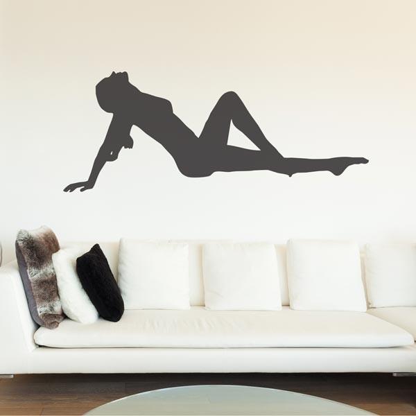 Vinilo silueta mujer sensual