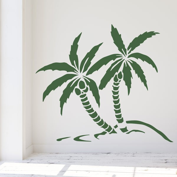 Vinilo decorativo palmeras
