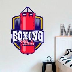 Vinilo decorativo boxing club