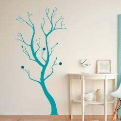 Perchero de pared árbol