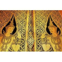 Fotomural arte tailandés