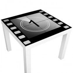 Vinilo mesa ikea película vintage