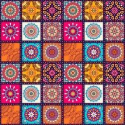 Vinilo de azulejo mandalas