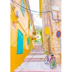 Fotomural calle pintoresca