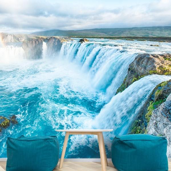 Mural cascadas Akureyri