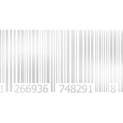 Vinilo al ácido código de barras