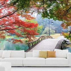 Fotomural jardín tranquilo