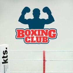 Adhesivo boxing club