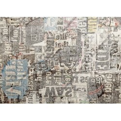 Adhesivo collage de periódicos