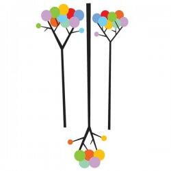Vinilo decorativo de árboles infantiles