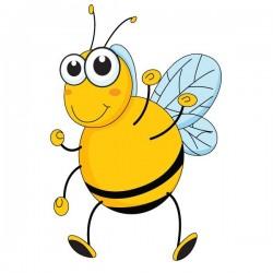 Vinilo bebé abeja