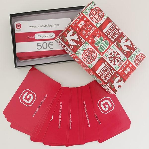 Tarjeta Regalo Navidad 50€