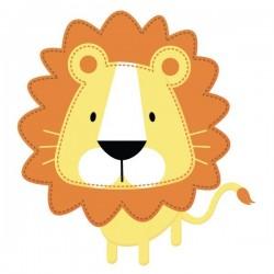 Vinilo bebé de león