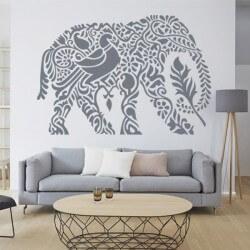 Adhesivo elefante indio