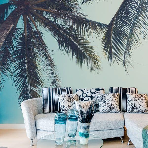 fotomural palmeras