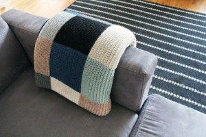 Manta y sofa