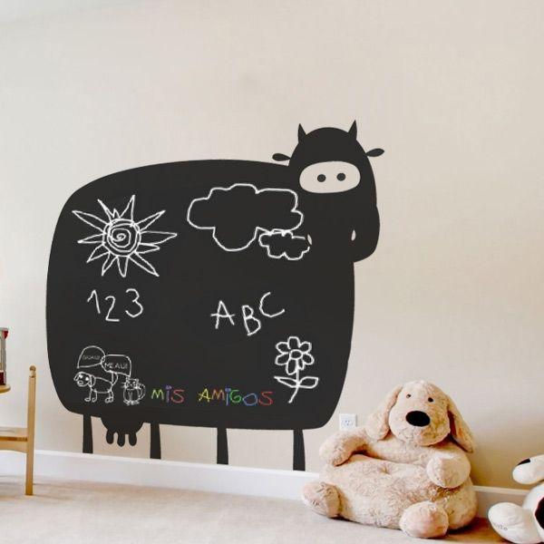 vaca pizarra
