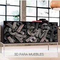 Vinilos 3d para muebles